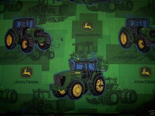 New John Deere Pillowcase Standard Bed Tractor Green Gift Logo Farmer