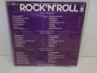 The BEATLES JOHN LENNON Rock N Roll 3 LP BOX SET Parlophone 4M128 5084 85 86