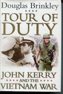 Douglas Brinkley John Kerry and Vietnam War Signed Autograph 1st Edition HB Book