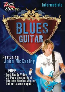 Rock House Blues Guitar Intermediate Featuring John MCC