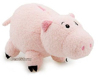 "7"" New  Pixar Toy Story Hamm Pig Bean Bag Plush Toy Stuffed Animal"