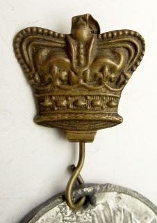 JOHN ORR CO KIMBERLEY 10y MEDALLION QUEEN VICTORIA DIAMOND JUBILEE 1897