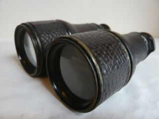 Colmont Paris WW1 Binoculars Military Field Gear 1916 John Bennett Green Case