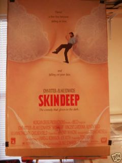 Skin Deep OS Movie Poster John Ritter Alyson Reed