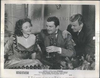1950 Press Photo Surrender Film Actors Vera Ralston John Carroll William Ching