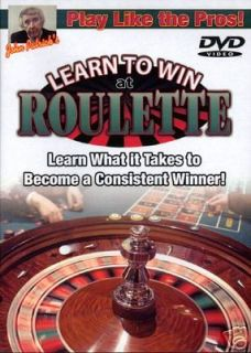 John Patrick Play Like The Pros Winning at Roulette DVD
