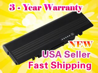 9 Cells Laptop Battery for Dell Inspiron 1520 1521 1720 1721 Vostro 1500 1700