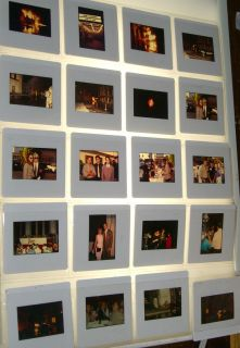 THE FLASH PRESS KIT LOT OF 50 COLOR 35MM SLIDE PHOTO JOHN WESLEY SHIPP