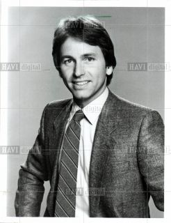 1985 Press Photo John Ritter Actor Vietnam Veteran