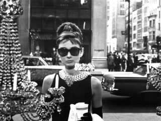 Audrey Hepburn Breakfast at Tiffany's Jewel Sun Glasses Sexy Poster Print RARE