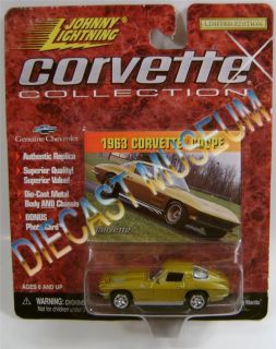 1963 '63 Chevy Chevrolet Corvette Coupe Corvette Collection Diecast Johnny JL