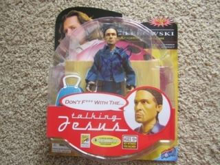 John Turturro Signed Big Lebowski Jesus Action Figure Real OBTAINED in Person