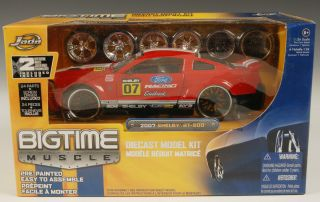 BIG TIME MUSCLE 1 24 2007 Shelby GT 500 Model Kit