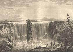 1822 Hogarth Folio Engraving LORD HOLLAND AND JAMES CAULFIELD Heath Edition