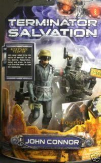 Terminator Salvation John Conner T600 Action Figure