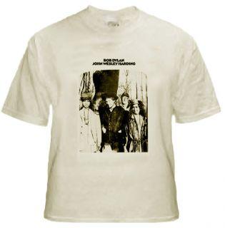 John Wesley Harding T Shirt Bob Dylan Tee Vintage