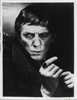 1968 Jonathan Frid Vampire of Dark Shadows Press Photo
