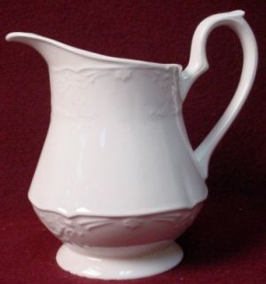 Johnson Brothers China Richmond White Creamer Cream Pitcher Jug