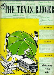 The Texas Ranger February 1942 University of Texas Humor Magazine