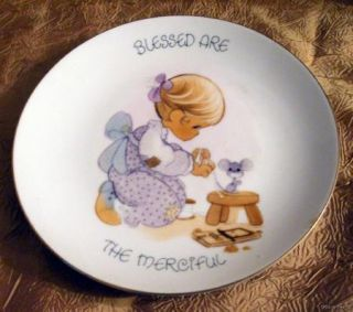 SALE 1984 Precious Moments Collectors Plate Jonathan David