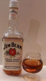 IY1JIM Beam Bottle Decanter Whiskey Greek 1960 Collectible Bar Tavern Vintage