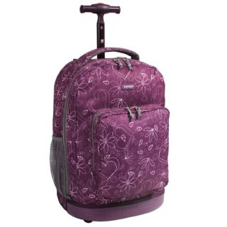 J World Sundown Rolling Backpack