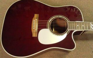 Takamine JJ325SRC John Jorgenson Signature Acoustic Electric Guitar w Case