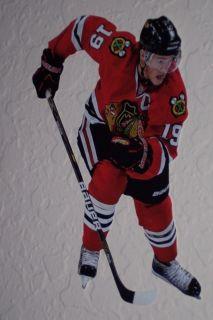 "Jonathan Toews Mini Fathead Chicago Blackhawks 7"" inch NHL Wall Graphic Decal"