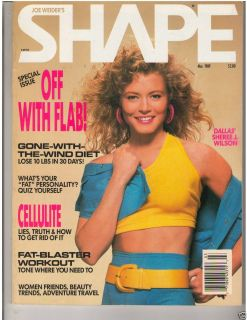 Joe Weider's Shape Female Bodybuilding Sheree J Wilson Dallas TV March 1989