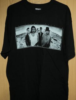 Awesome New U2 Joshua Tree Europe Concert Tour T Shirt XL