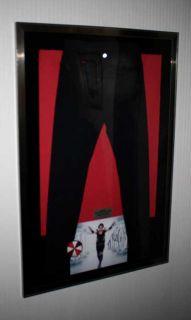 Resident Evil Alice Hero Costume Signed Milla Jovovich Prop COA UACC DVD Frame