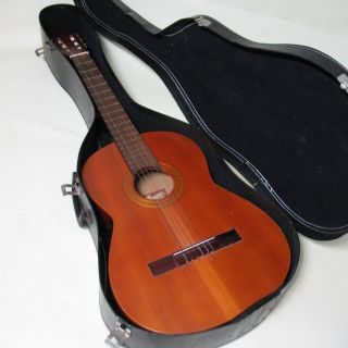 Vintage Jose mas Y mas Guitar Classic Acoustic Made in Valencia Spain Great