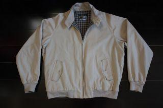 Men's Derby of San Francisco Khaki Jacket Size Large