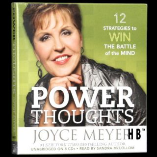 Power Thoughts Joyce Meyer 8 CD God Loves You Me Good
