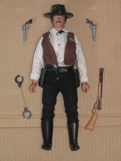 70's Marx Gabriel Lone Ranger UK Exclusive Tex Dawson Sheriff Doll Action Figure