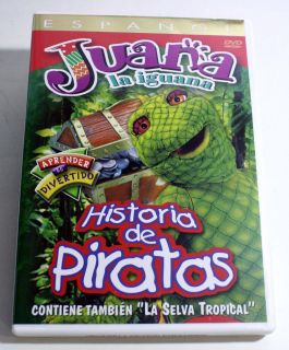 Juana La Iguana Historia de Piratas DVD 2003 Spanish Only 000799441824