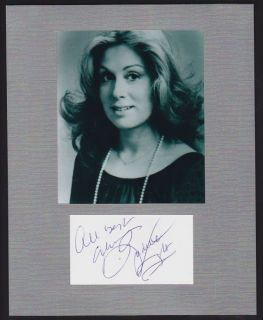 Judith Light Autograph Signed Display Young Pretty Signature COA Authentic