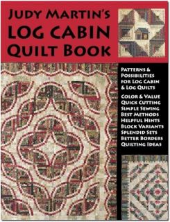 Judy Martin's Log Cabin Quilt Book 16 Designs WE96429