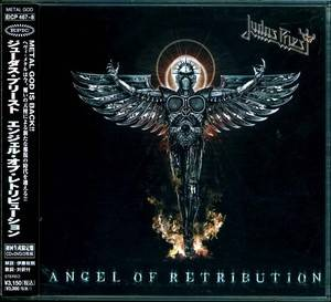 Judas Priest Angel of Retribution Japan CD w OBI Bonus DVD