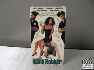 Bank Robber VHS 1994 Patrick Dempsey Forest Whitaker Lisa Bonet 012236996439