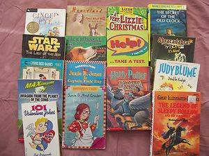 lot Secret of the old Clock Harry Potter Junie B Jones Judy Blume STAR WARS