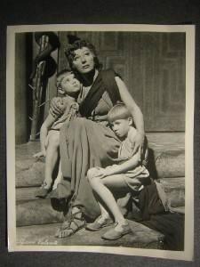 Judith Anderson Medea Vintage Theatre Photo 358P