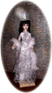 OOAK ICE STORM FOR 17 EVANGELINE GHASTLY by Judy