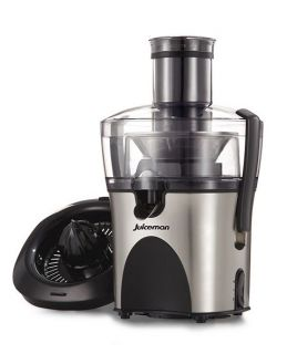 New Juiceman JM480S 2 in 1 Power Citrus Juicer Fuit Vegetable Juice Extractor