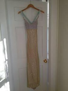 Elegant Evening Gown Juan Carlos Pinera Hot Miami Designer