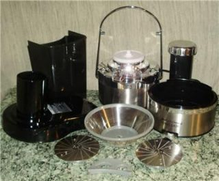 Jack Lalanne Power Juicer Stainless Black MT1000 EC