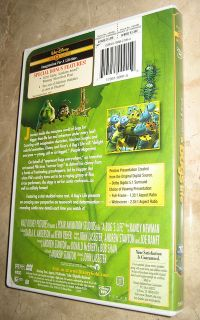Pixar Walt Disney Gold Collection A Bugs Life DVD 2000 MINT CONDITION MUST SEE