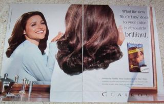 96 Clairol Nice Easy Hair Color Julia Louis Dreyfus Ad