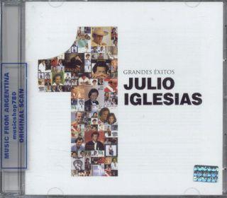 JULIO IGLESIAS, GRANDES EXITOS. FACTORY SEALED CD. IN SPANISH.