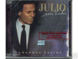 Julio Iglesias MI Vida Grandes Exitos SEALED 2 CD Set